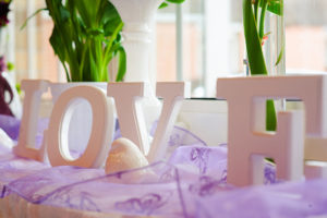 Love im Fensterbrett Dj Hochzeit